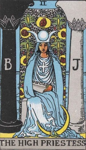 the high priestess, the high priestess reversed, the high priestess love, the high priestess feelings, the high priestess advice, the high priestess meaning, the high priestess yes or no